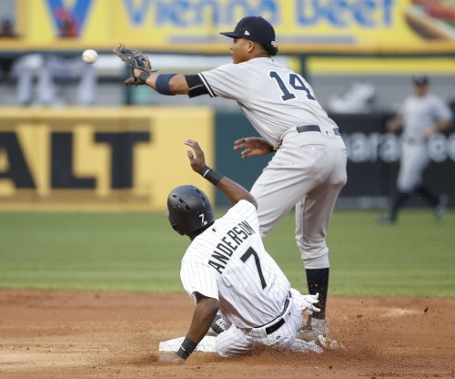 New York Yankees' Starlin Castro exits game due to hamstring strain