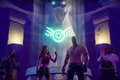 Play as The Rock, Karen Gillan, Jack Black, Kevin Hart in 'Jumanji: The Video Game'