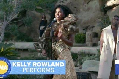 Kelly Rowland performs, reflects on Destiny's Child bond on 'GMA'