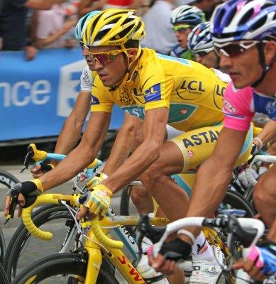 Contador may leave Astana Cycle team