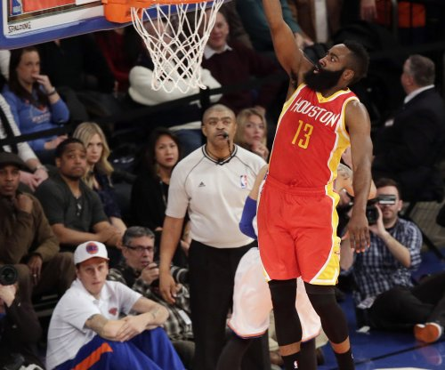 Harden's 44 lead Houston Rockets past Indiana Pacers
