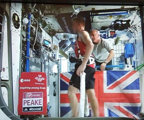 British astronaut Tim Peake ran London Marathon from space