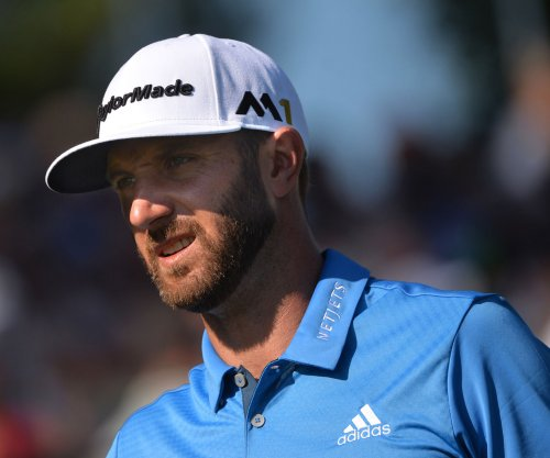 Dustin Johnson, Andrew Landry share early U.S. Open lead