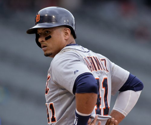 Detroit Tigers DH Victor Martinez out of hospital, will miss road trip due to heartbeat issue