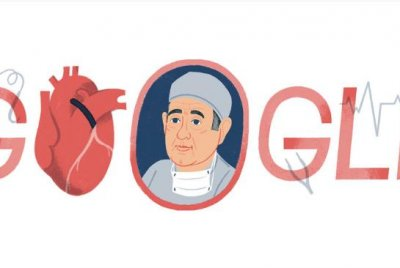 Google honors surgeon Rene Favaloro with a new Doodle