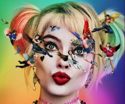 Margot Robbie's Harley Quinn returns in first 'Birds of Prey' poster