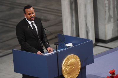 Ethiopia PM Abiy Ahmed Ali receives 2019 Nobel Peace Prize