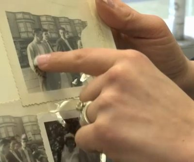 Woman tracks down owner of photos found in thrift store album