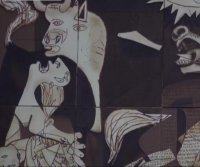 Spanish confectioners recreate Picasso's 'Guernica' in chocolate