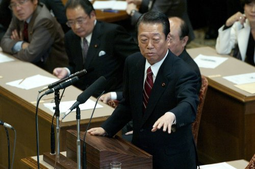Ozawa wins third term as party leader