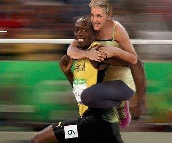 Ellen DeGeneres denies she's racist after Usain Bolt tweet