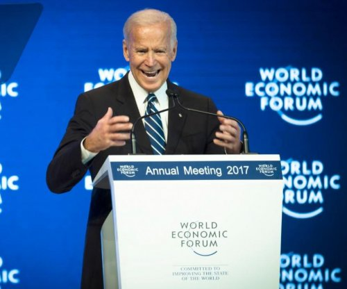 Joe Biden warns of collapse of democracy at Davos