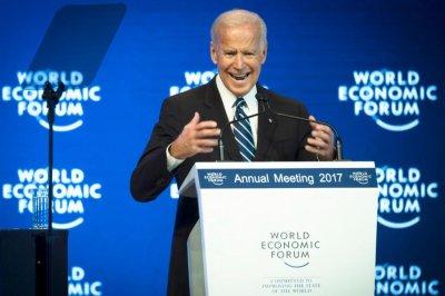 Joe Biden warns of collapse of democracy at Davos