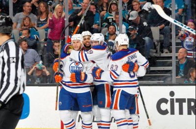Edmonton Oilers blank San Jose Sharks again, grab series lead