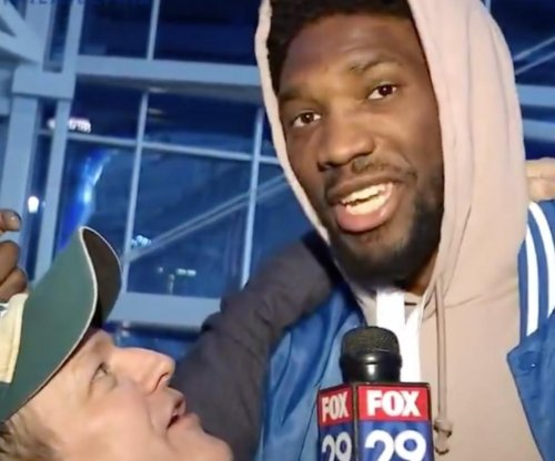 Joel Embiid says the 76ers are up next after Super Bowl