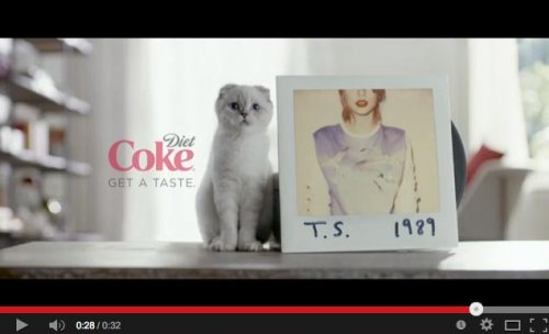 Olivia Benson, Taylor Swift star in new ad for Diet Coke