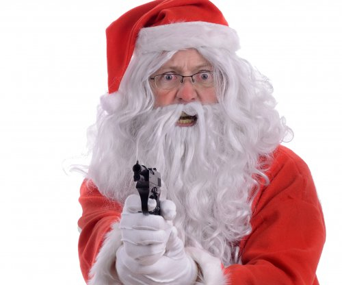Gun-toting Santa Claus robbed a jewelry store on Christmas Eve