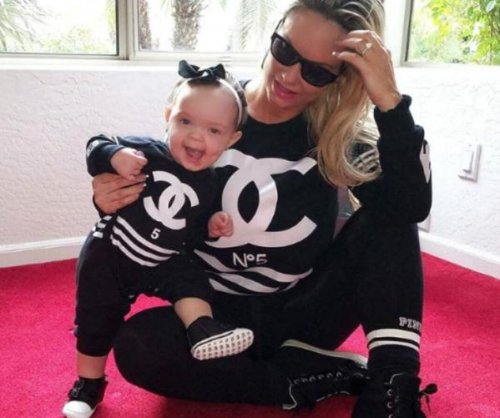 Coco Austin and daughter Chanel wear matching outfits