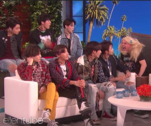 BTS gets scared during prank on 'Ellen'