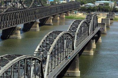 North Korea running trade deficit with China, South Korea bank says