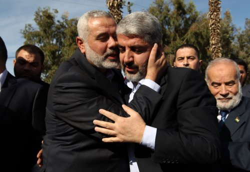 Hamas' Meshaal arrives in Gaza Strip
