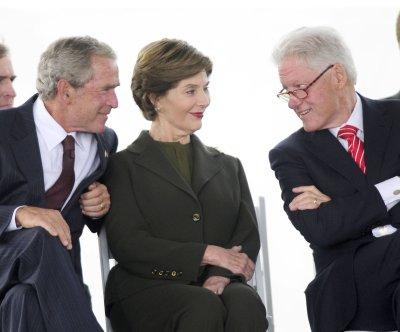 George W. Bush, Bill Clinton visit New Orleans ahead of Katrina anniversary