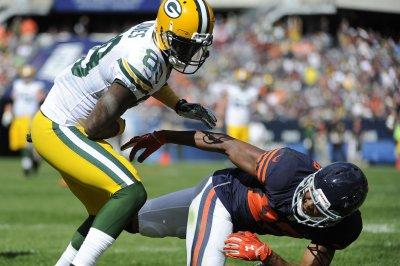 James Jones, Green Bay Packers get past Chicago Bears