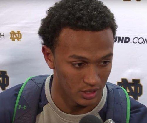 Josh Adams' record run sparks Notre Dame romp