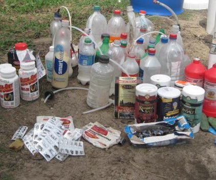 Wisconsin sheriff asks hunters to watch out for meth labs