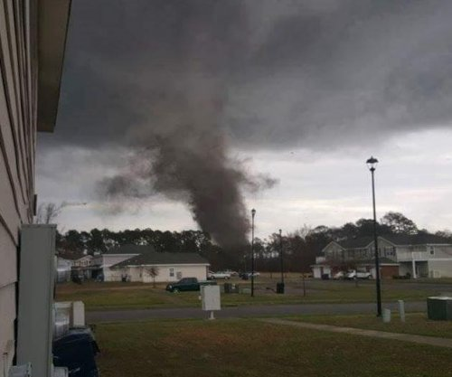 Fort Stewart military base in Georgia damaged in suspected tornado, no injuries