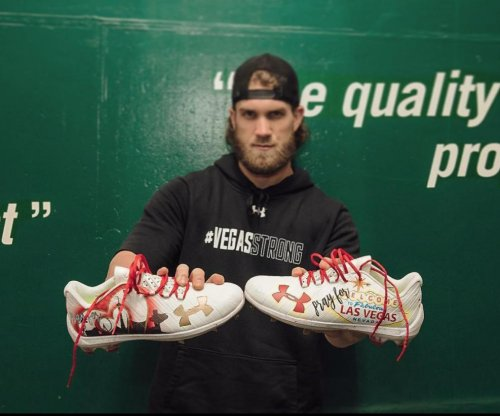 Bryce Harper: Washington Nationals star to sport Las Vegas cleats for NLDS