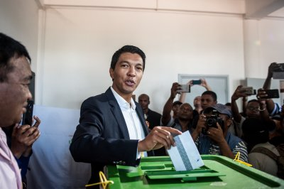 Madagascar votes in crowded presidential election