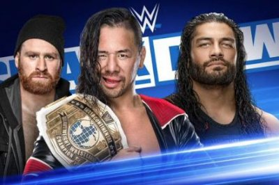 Roman Reigns to battle Shinsuke Nakamura on WWE Smackdown