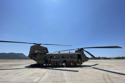 , U.S. delivers two Chinook helicopters to help Turkey with wildfires, Forex-News, Forex-News