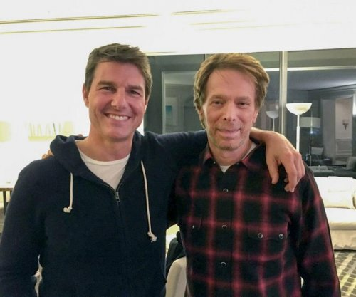 Tom Cruise, Jerry Bruckheimer meet to discuss 'Top Gun 2'