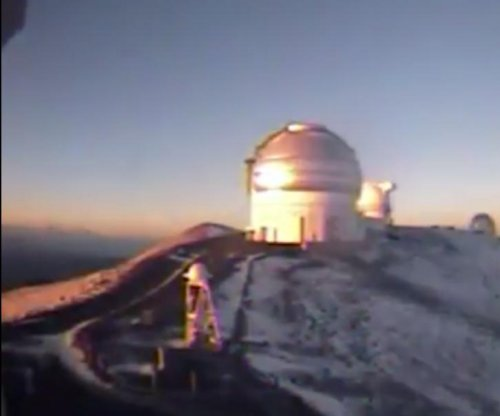 Hawaii's big island gets snow in June