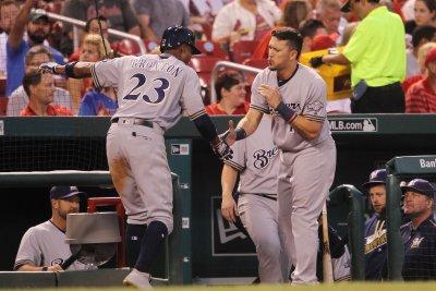 Keon Broxton's 4 RBIs help Milwaukee Brewers defeat Boston Red Sox