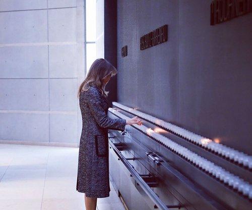Melania Trump visits Washington Holocaust Memorial Museum