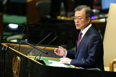 Moon Jae-in calls for reciprocal measures on North Korea denuclearization