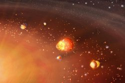 Two-step formation explains our solar system's dichotomy of planets