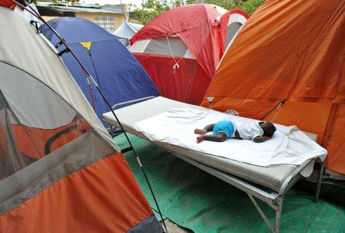 Haitians mark month anniversary of quake