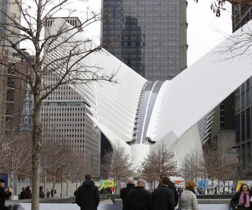 World Trade Center transit hub opens to heavy criticism