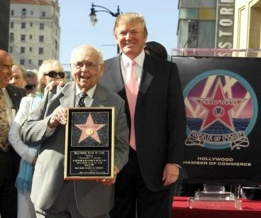 Donald Trump's Walk of Fame star is target for vandals