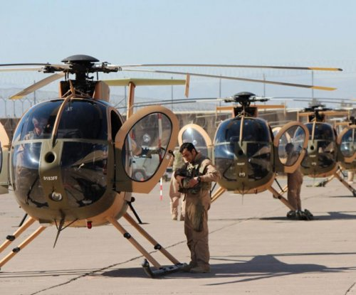 Afghan air force gets more MD-530 helicopters