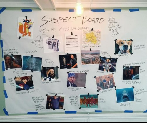 Investigator Tom Brady unveils 'suspect board' for missing $500,000 jersey