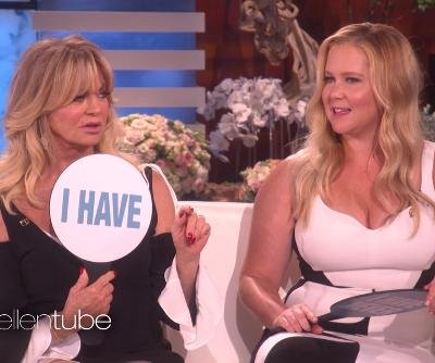 Goldie Hawn, Amy Schumer play Never Have I Ever on 'Ellen'