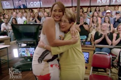 Carrie Ann Inaba asks mom to be matron of honor on live TV