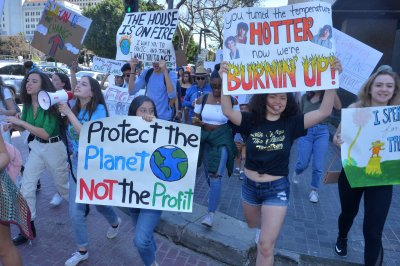Global student walkout demands action on climate change