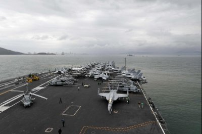 U.S. aircraft carrier visits Vietnam to celebrate diplomatic ties