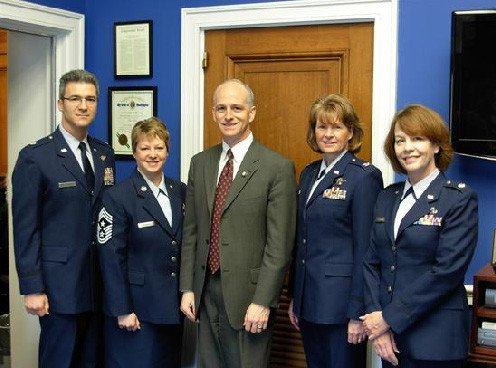 Smith top Democrat on military committee